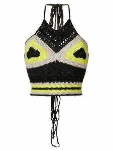 Ambush waves crochet top - Black