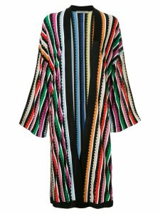 Mary Katrantzou striped knit cardigan - Multicolour