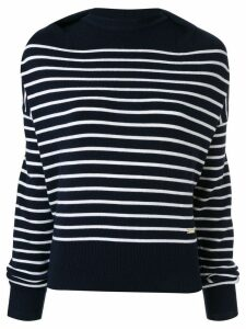 JW Anderson knit striped sweater - Blue
