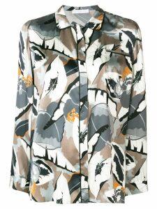 Fabiana Filippi printed shirt - Grey