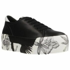 Liu Jo  MAXY 04 - LACE UP  women's Shoes (Trainers) in Black