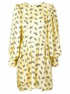 Isabel Marant wheat fan print dress - Yellow