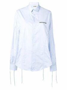 Each X Other adjustable strap shirt - Blue