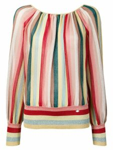 Elisabetta Franchi striped blouse - Yellow