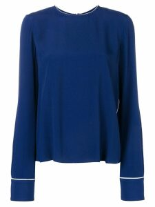 Marni crew neck top - Blue