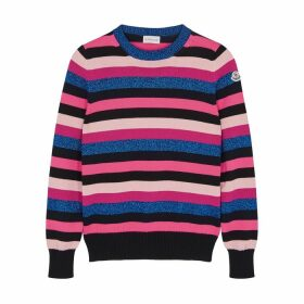 Moncler Maglia Striped Cotton Jumper