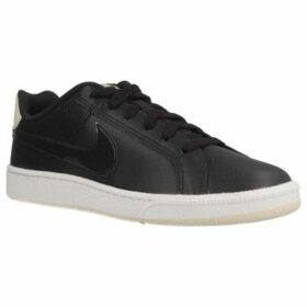 Nike  COURT ROYALE  women's Shoes (Trainers) in Black