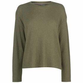 SoulCal Nav T Shirt Ladies - Khaki