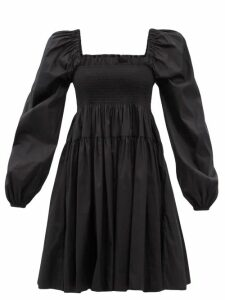 Loup Charmant - Salento Buttoned Cotton Blouse - Womens - Navy