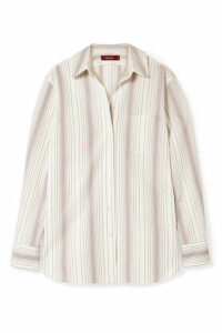 Sies Marjan - Sander Striped Cotton-poplin Shirt - Ivory