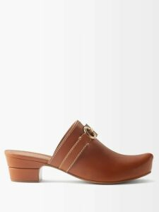 Mm6 Maison Margiela - Ribbon Embellished Cotton Hooded Sweatshirt - Womens - Black Grey