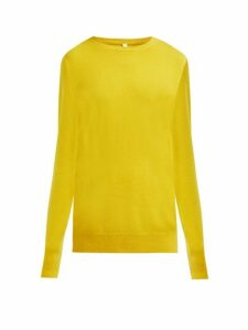 Extreme Cashmere - No.36 Classic Stretch Cashmere Sweater - Womens - Yellow