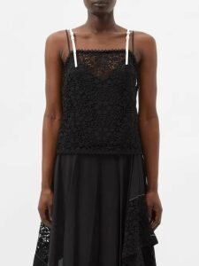 Saint Laurent - Bedford Bandana-print Canvas High-top Trainers - Womens - Red White