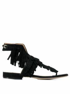 Sergio Rossi sr Milano Fringe sandals - 1000