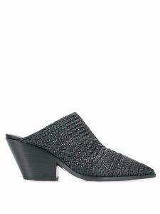 Casadei braided mules - Black