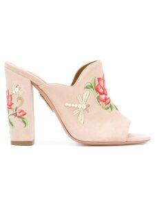 Aquazzura Lotus mules - Pink