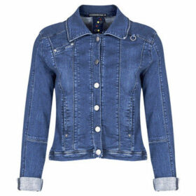 Mado Et Les Autres  Stretch denim jacket  women's Denim jacket in Blue
