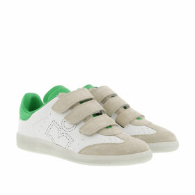 Isabel Marant Étoile Sneakers - Bethshell Sneakers Leather White/Green - white - Sneakers for ladies