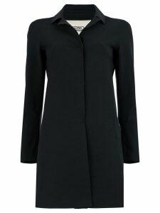 Herno plain car coat - Black