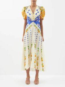 Mara Hoffman - Bennett Striped Organic Cotton Shirt - Womens - Navy
