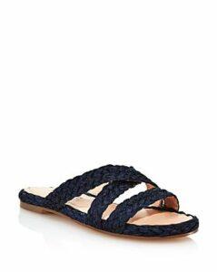 Charles David Women's Sands Raffia Slide Sandals