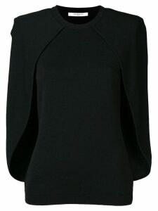 Givenchy cape blouse - Black