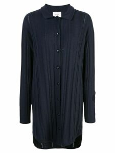 Barrie long cashmere cardigan - Blue