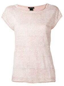 Avant Toi round neck T-shirt - PINK