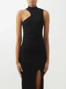 Roksanda - Seya Balloon-sleeve Crinkled Cotton Top - Womens - Red