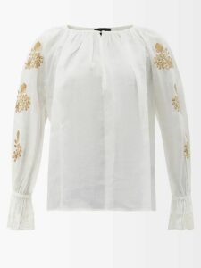 Extreme Cashmere - No.36 Be Classic Stretch Cashmere Sweater - Womens - Navy