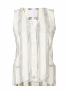 Noon By Noor Andy tailored waistcoat - NEUTRALS