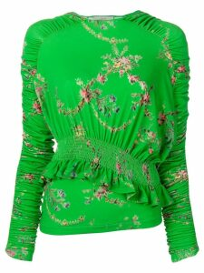 Preen By Thornton Bregazzi floral print top - Green