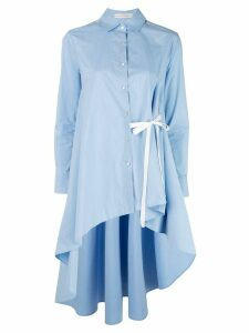 Palmer / Harding long asymmetric shirt - Blue