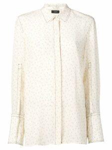 Joseph floral print shirt - NEUTRALS