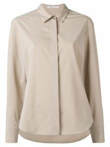 Agnona Vicuna oversized shirt - NEUTRALS