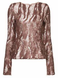 Rachel Gilbert Dinah blouse - Pink