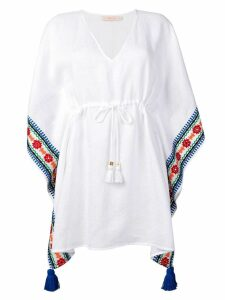 Tory Burch tassel beach tunic - White