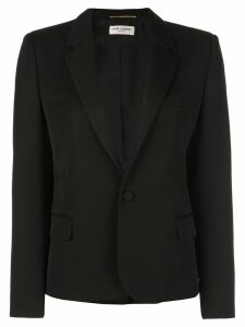 Saint Laurent single breasted blazer - Black