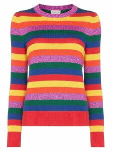 Moncler Rainbow stripe jumper - 490 Multicoloured