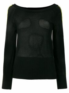 Diesel sheer cut-out jumper - Black