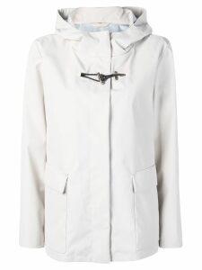 Fay concealed zip jacket - NEUTRALS