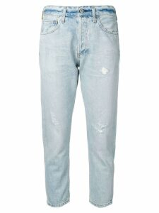 Citizens Of Humanity cropped washed jeans - Blue