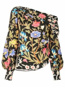 Peter Pilotto botanical blouse - Black