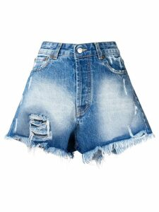 Forte Dei Marmi Couture stone washed shorts - Blue