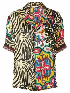 Pierre-Louis Mascia printed blouse - Brown