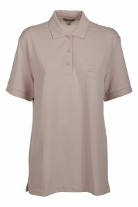 Burberry Logo Length Polo Shirt