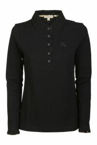 Burberry Long-sleeved Polo Shirt