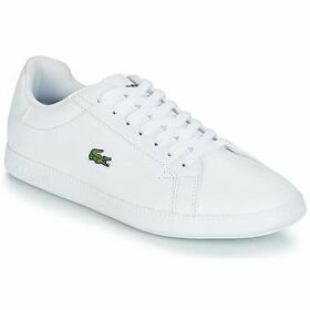 Lacoste  GRADUATE BL 1  women's Shoes (Trainers) in White