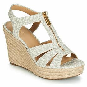 MICHAEL Michael Kors  BERKLEY  women's Sandals in Beige