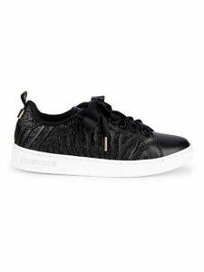 Animal-Print Low-Top Sneakers